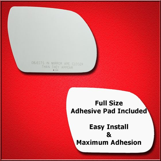 Mirror Glass Replacement + Full Adhesive for 07-12