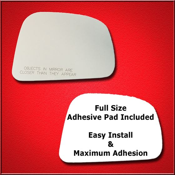 Mirror Glass Replacement + Full Adhesive for 07-11