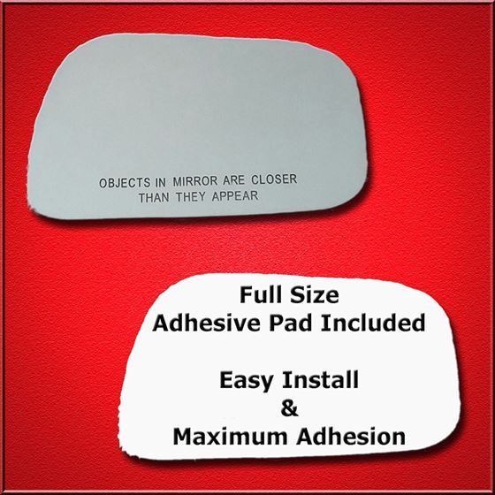 Mirror Glass Replacement + Full Adhesive for 02-06