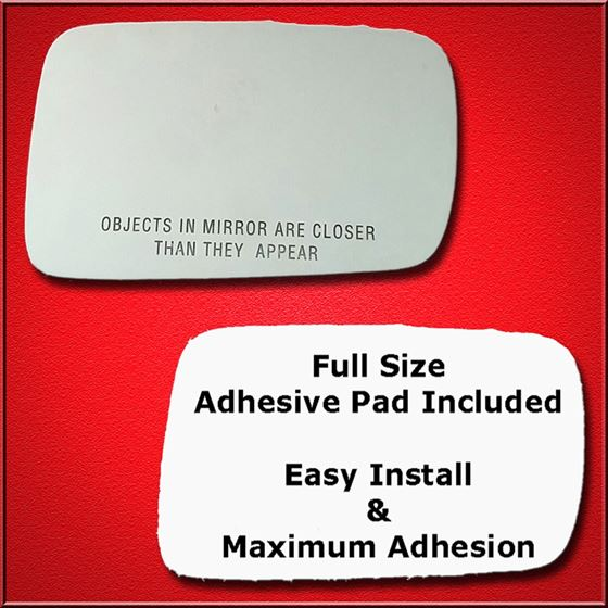 Mirror Glass Replacement + Full Adhesive for BMW 3