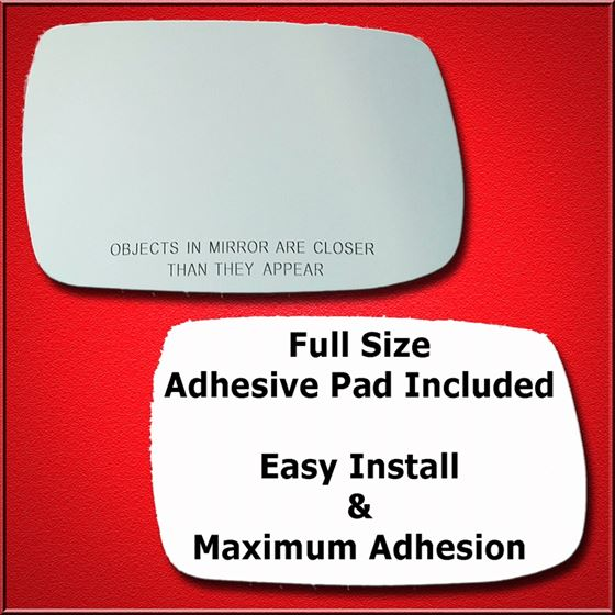 Mirror Glass Replacement + Full Adhesive for Outba
