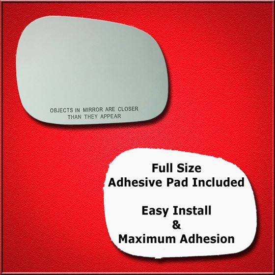 Mirror Glass Replacement + Full Adhesive for XL-7
