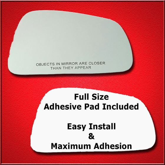 Mirror Glass Replacement + Full Adhesive for 99-03