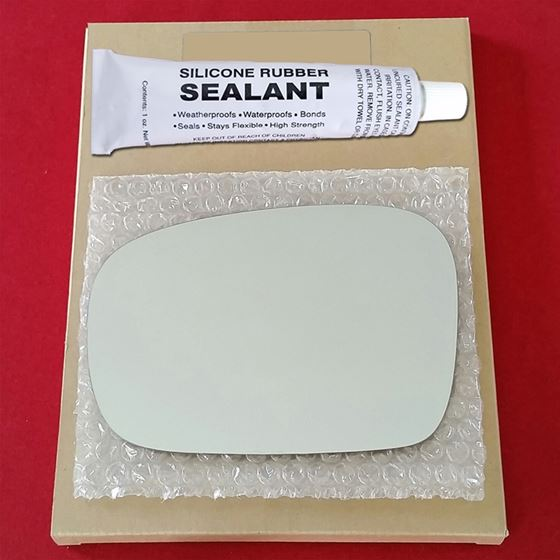 Mirror Glass Replacement + Silicone Adhesive for P