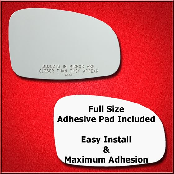 Mirror Glass Replacement + Full Adhesive for Scion