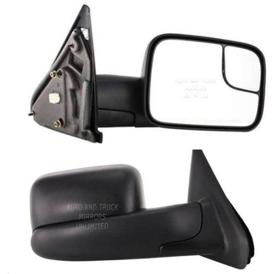 02-10 Dodge Pickup Passenger Side Mirror Assembly