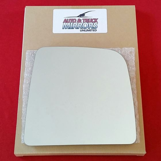 Mirror Glass + ADHESIVE for 04-14 Nissan Titan Pas