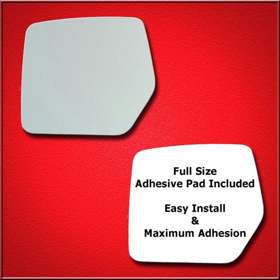 Mirror Glass Replacement + Full Adhesive for Jeep