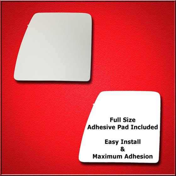 Mirror Glass Replacement + Full Adhesive for 12-18