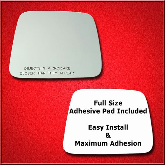 Mirror Glass Replacement + Full Adhesive for 98-04
